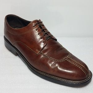 Cole-Haan Oxfords Loafer Mens 10 Lace Up Brown